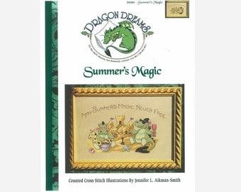 Dragon Dreams Cross Stitch Pattern Summer's Magic