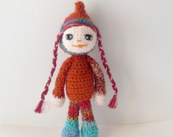 Amigurumi crochet doll Little Red Riding Hood wool by ...