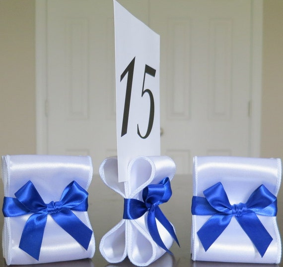 Items Similar To Wedding Table Number Holders Set Of Ten