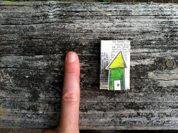 Very very tiny house painting