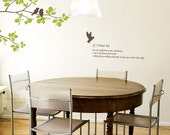 179 Wall Graphics - MORNING BIRD