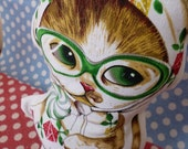 Fashion Baby Cat  / I Like Cats Fabric Cat Doll Cat Toy Gift