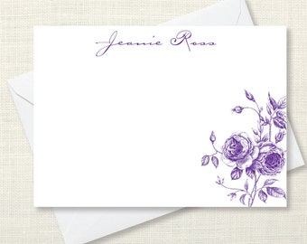 Stationary - roses - set of 10 notecards