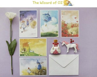 The Wizard of OZ Postcard Set
