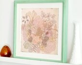 Flower Art Print Coexistence -  Limited Ed. 21/150 - nature print, floral, pink