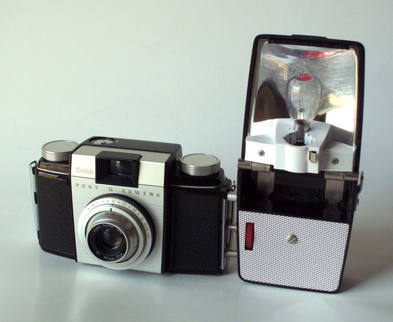 Kodak Pony II with Flash Attachment