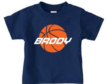 Basketball shirt, basket ball birthday shirt, personalized basketball shirt with name and number