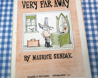 very far away, vintage 1957 children's book