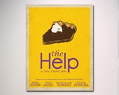 The Help Minimalist Movie Poster / Choose Your Size Wall Art