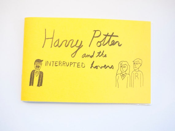 Harry Potter and the Interrupted Lovers - Mini Comic