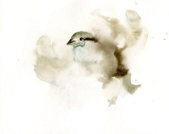 SPARROW  Art Print 8x10inch-Poster-Archival print-Animal print-wall decor-home decor-bird art