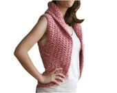 Boho Vest in Shades of Pink - Women and Teens Accessories - Fall and Winter Fashion