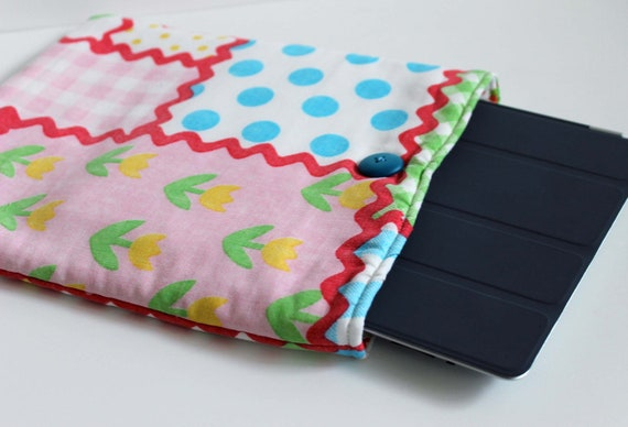 SALE Eco-Friendly Vintage iPad Case