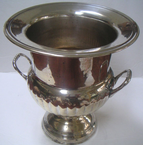 Vintage Silver Plated Champagne Ice Bucket by International Silver Co. Urn,Vase