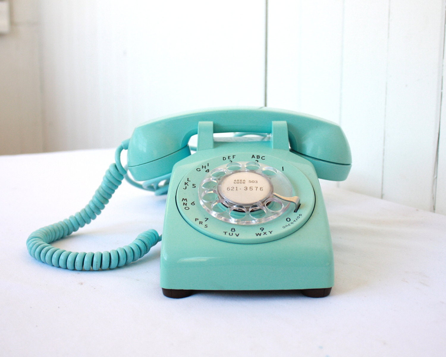 vintage phone vintage rotary phone turquoise phone rotary. Black Bedroom Furniture Sets. Home Design Ideas
