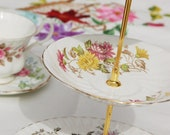 Cakestand - The Garden Party Vintage Tea Stand