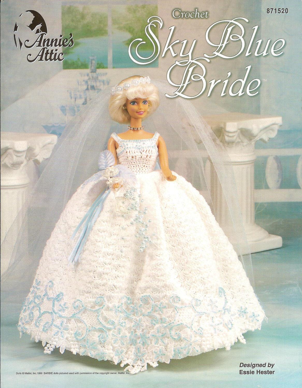 Crochet Barbie Doll Wedding Gown Pattern