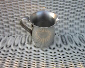 Vintage Creamer,  Aluminum Creamer , Everlast Aluminum, Everlast creamer, everlast pitcher, aluminum pitcher,