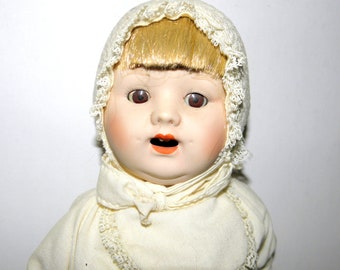 REDUCED ~ Vintage German Bisque Doll