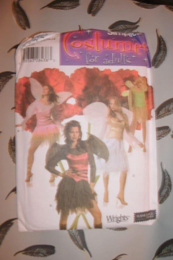 Halloween Costume pattern, adult female, Fairy, Elf, good or evil
