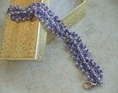 Beadwoven Jewelry Handcrafted Handmade Bead Woven bracelet OOAK jewellery