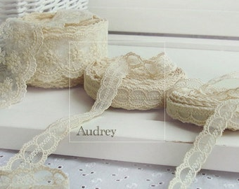 LC39,Romantic Cotton lace - Audrey,20mm