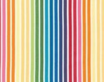 Rainbow Remix Stripes From Robert Kaufman