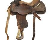 Matt Tyler Jr. Roper saddle - oldegoodthings