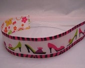 Reversible Shoes and Flowered Ribbon headband