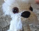 Ami ami dog Blizzard the West highland terrier