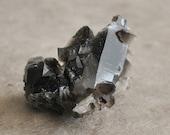irradiated smokey quartz specimen from arkansas (1 pc)