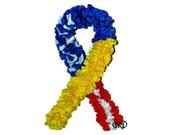 Soldier Awareness Ribbon Patriotic Wreath