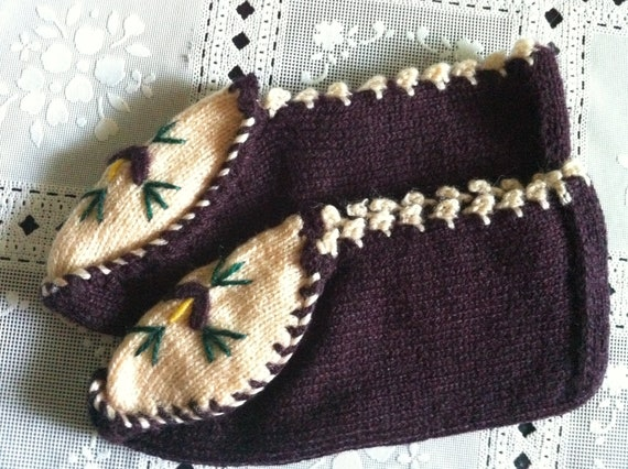 Knitting Women Room Shoes, Slippers, Bootee, Usa Seller