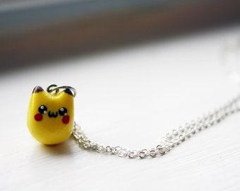 Adorable Tiny Pikachu Necklace