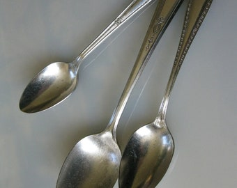 Silverplate spoons    Community silverplate   Marianne silverplate   Hotel silverplate spoon
