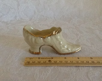Ceramic Shoe Porcelain Shoe Collectible