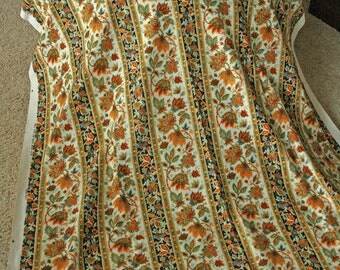 Yardage Adorned by Vintage Autumn Colors- Two 2 Yards Fabric by 5th Avenue Designs