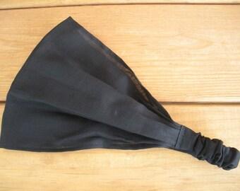 Fabric Headband Womens Headband Fashion Accessories Hair Women Head Scarf Headwrap Bandana in Black - Choose color