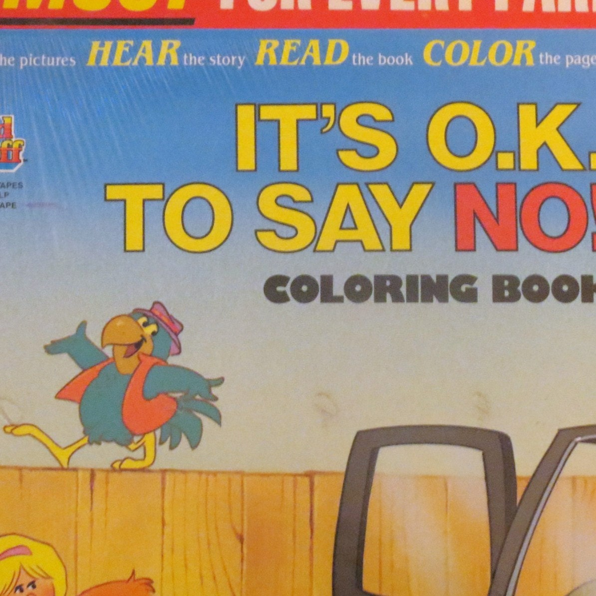 Its ok to say no full length recording and coloring book new Coloring book record