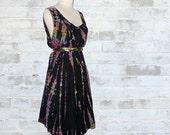 Vintage Tie Dye Hippie Metamorphosis Dress