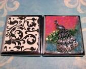 Stranded Island Peacock Cigarette Case Wallet