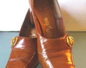 Vintage Palter DeLiso New York City Shoes Size 8.5
