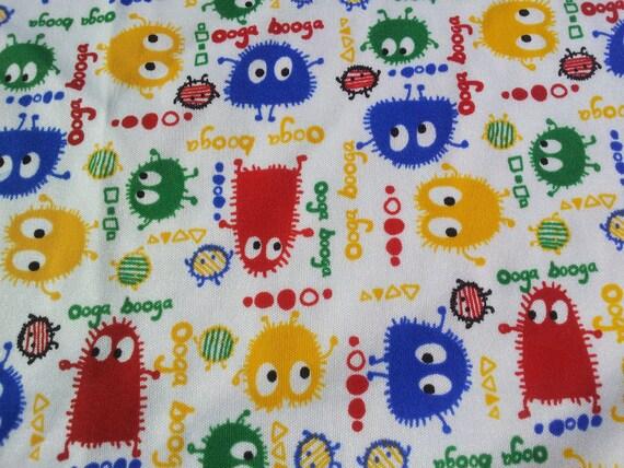 "Primary Color Ooga Booga PUL Diaper Cut 18"" x 20"""