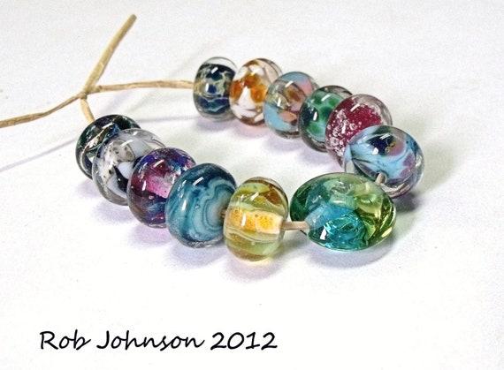 Orphan Selection, Lampwork Glass Beads