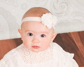 20% OFF ORDER You Pick 3.Shabby Flower Clip.Interchangeable headbands.shabby flower headband..infant headband..toddler headband