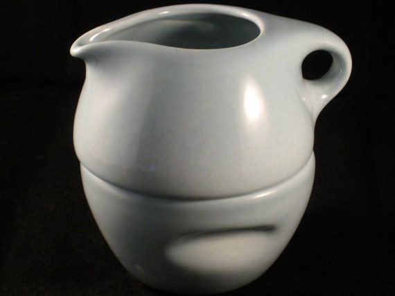 Russel Wright Ice Blue Iroquois Casual China stacking cream & sugar