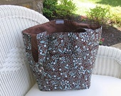 15% OFF INVENTORY SALE - Gender Neutral Handmade Diaper Bag / Large Tote