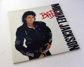 1987 Michael Jackson - Bad - Original Vinyl Record