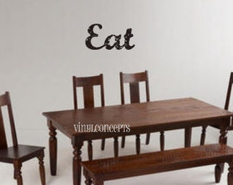Eat - Vinyl Wall Art