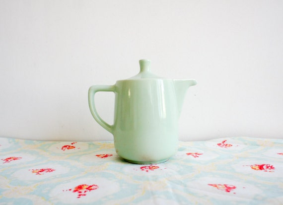 vintage french coffee pot from the 50's in mint